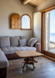 חלון אלומיניום דמוי עץ