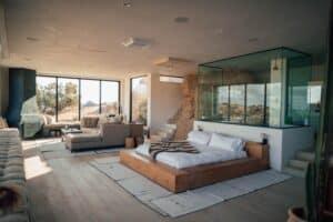 חלונות לחדר שינה - לב אלומיניום